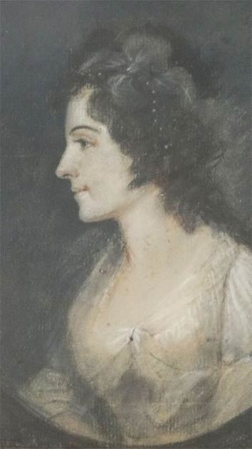 Portrait of a young Elizabeth Schuyler, later Hamilton. (Public domain)