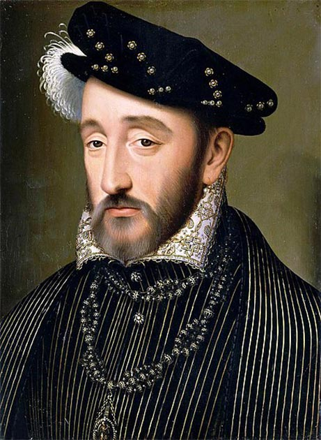 Portrait of Henry II of France, circa 1559. (Public Domain)