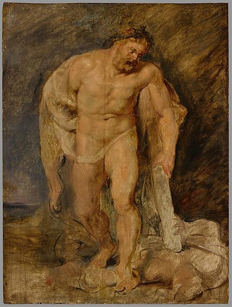 'Hercules as Victor over Discord' (1610) by Peter Paul Rubens. (Public Domain) The Cynics adopted the figure of Heracles as their symbol and patron hero.
