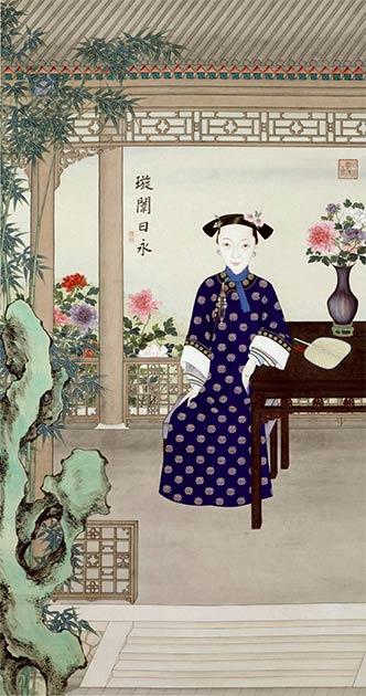 Portrait of Empress Dowager Ci'an (co-regent with Cixi), with whom Cixi staged the Xinyou Coup. (Palace Museum, Beijing / Public domain)