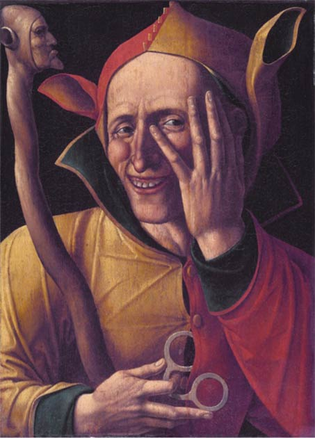 Some scholars believe that the horned helmet belonged to Henry's court jester, Will Sommers, said to be the only person who could lift the king's spirits towards the end of his life. (Public domain)