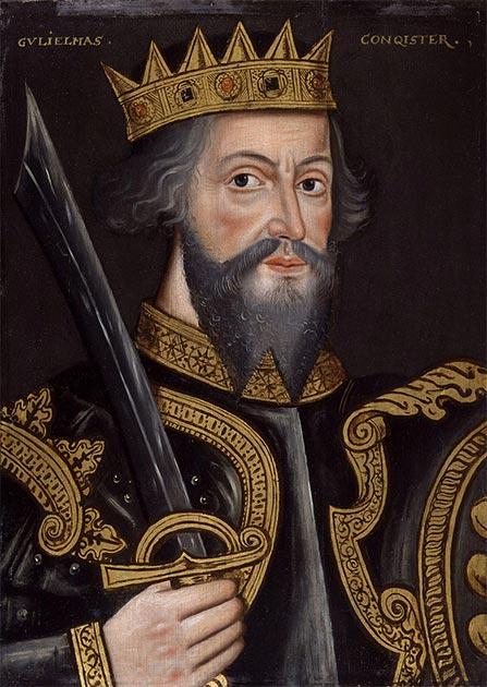 Portrait of William the Conqueror (King William I), 1597. (National Portrait Gallery / Public domain)