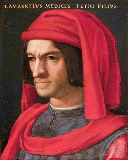 Portrait of Lorenzo de' Medici from the 16th century. (Agnolo Bronzino / Public domain)