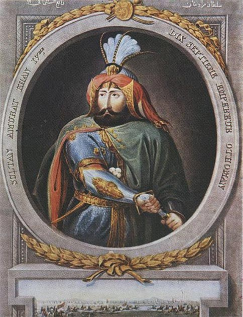 Sultan Murad IV. (Public Domain)