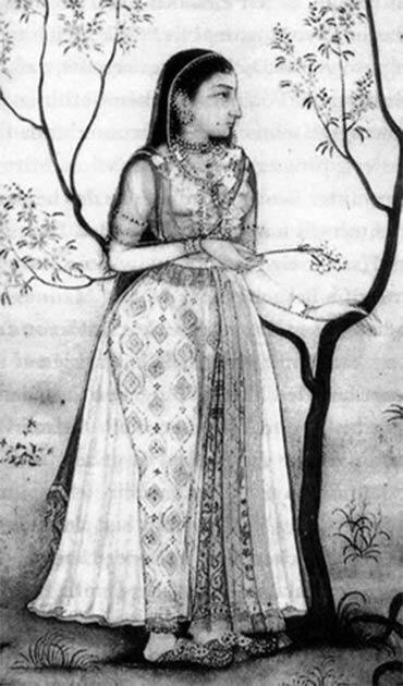Jahanara was the favorite of her father Shah Jahan, who nursed her when she was burned. (Public domain)
