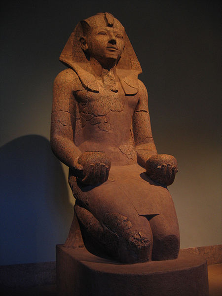 One of Eight Colossal Statues of Hatshepsut Recovered from Deir el-Bahri. (CC BY-SA 3.0)