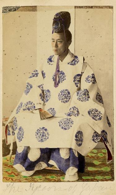Yorimoto, the last Tokugawa shogun (Frederick Sutton Studio / Public domain)