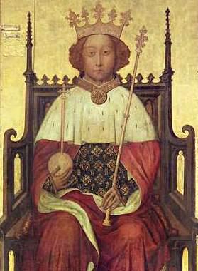 Portrait of King Richard II of England (1367-1400). (Public domain)