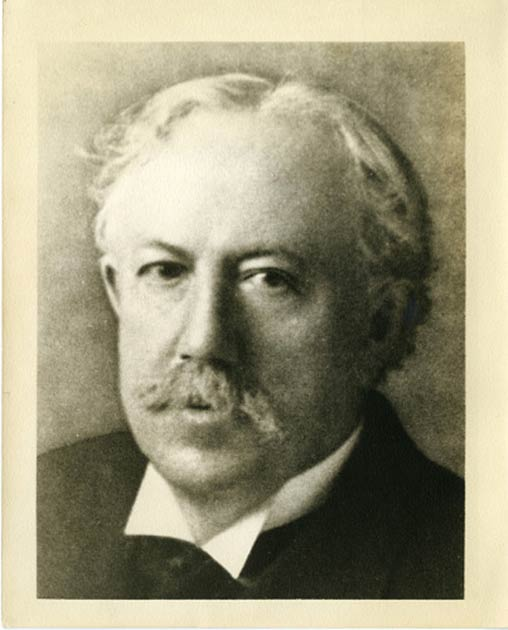 Professor Jordan's photo can be found within the Smithsonian Archives, despite their denial of any association with him. (Smithsonian Archives)