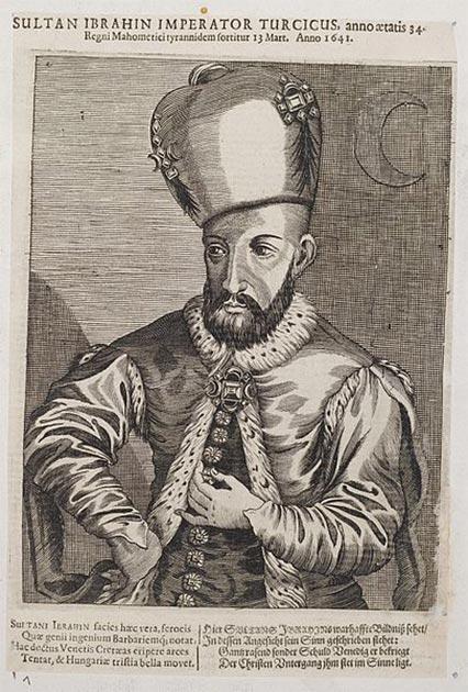 Ibrahim I by Arolsen Klebeband. (Public Domain)