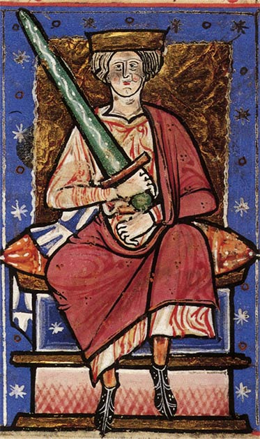 Aethelred the Unready ordered the execution of all Danes living in England on St. Brice's Day 1002. (Public Domain)
