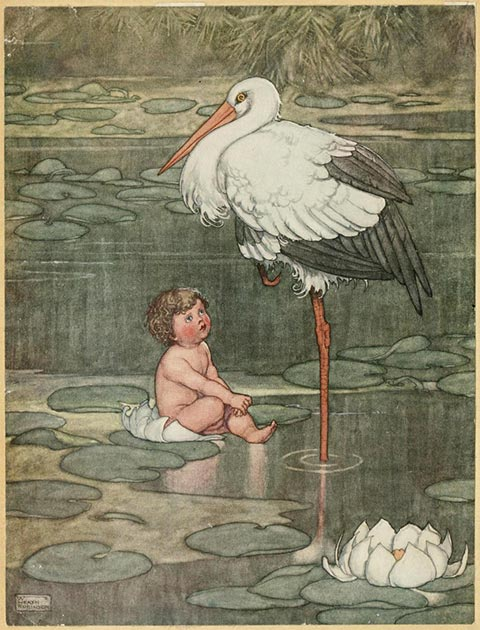 Illustration in Hans Andersen's fairy tales (1913) London: Constable. (Public Domain)
