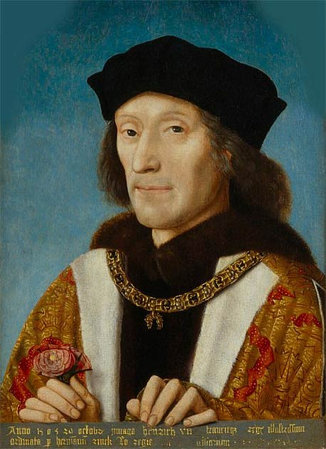Portrait of Henry VII of England (1457-1509), who established the House of Tudor, which hangs in the National Portrait Gallery. (Public domain)