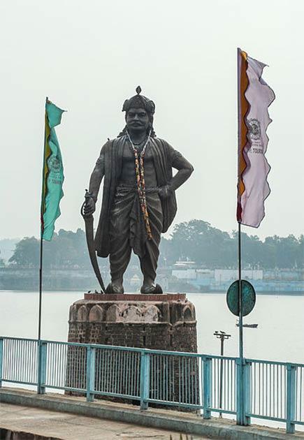 Raja Bhojadeva, a king from Paramara dynasty and author of Sringara Prakasa. (Bernard Gagnon / CC BY-SA 3.0)