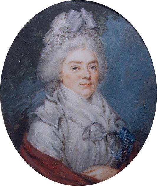 Portrait of Countess Darya Petrovna Saltykova. (Public domain)