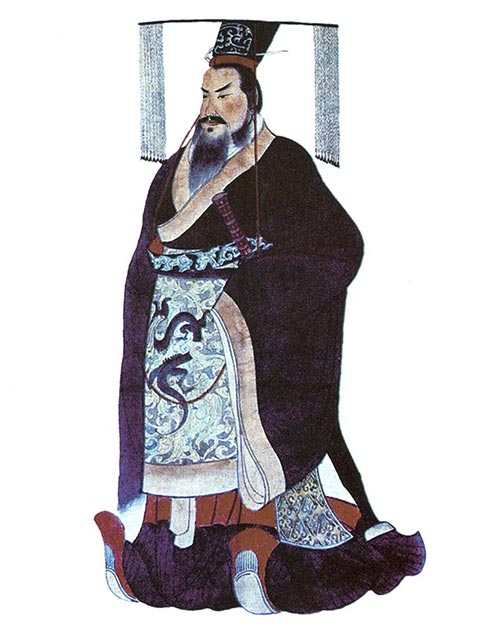 Qin Shi Huang, the first emperor of China, who had an obsession with immortality and eventually died from poising after taking an 'elixir of life'. (Public domain)