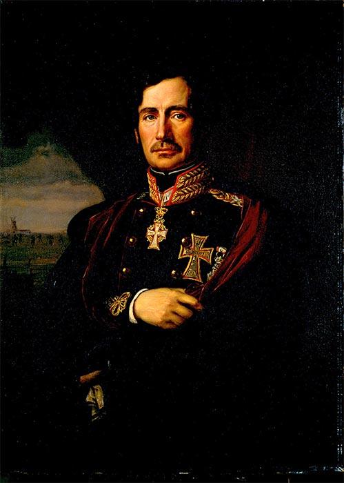 Sephardic Supreme Commander of the Danish army Second Schleswig War, Christian Julius de Meza. (August Schiøtt / Public domain)