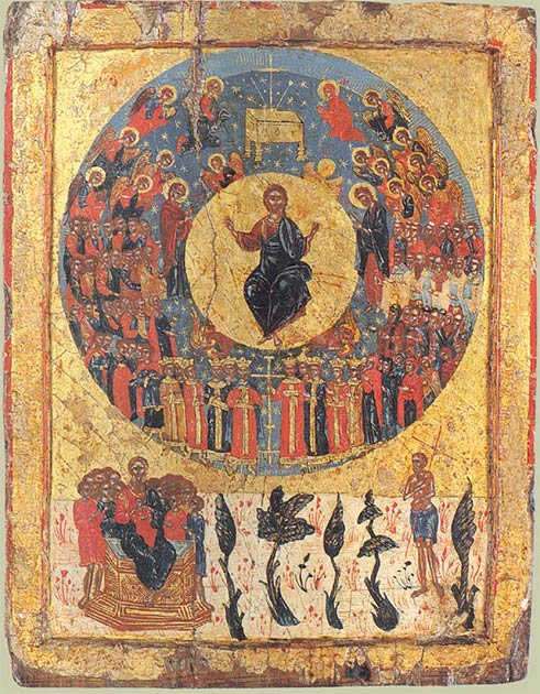 Greek Icon of the Second Coming. (Public Domain)