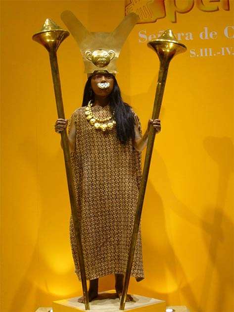 Reconstruction of the Lady of Cao. (Manuel González Olaechea y Franco/CC BY SA 3.0)