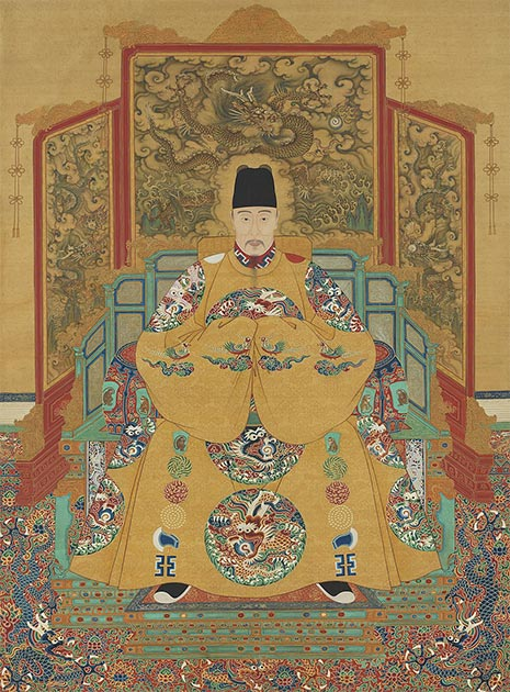 The Jiajing Emperor, 12th Emperor of the Ming Dynasty, who also sought the elixir of immortality. (Public domain)