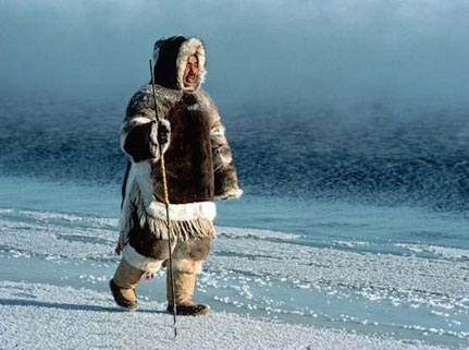 Inuit Man - Traditional Clothing
