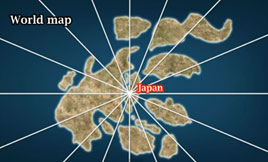 Japan Map - World Regions