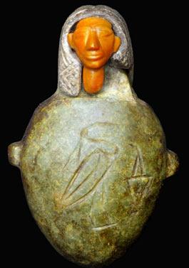 The jasper heart amulet