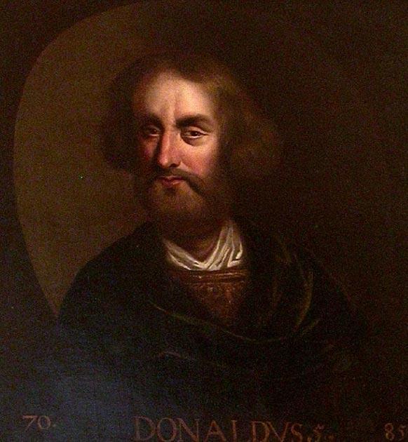 King Domnall mac Ailpín. (Public Domain)