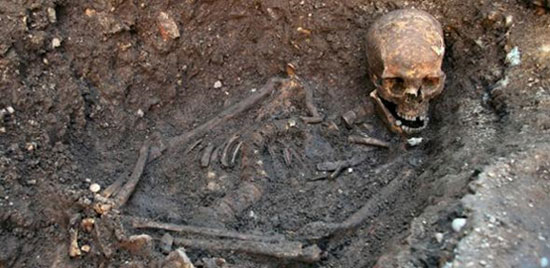 Skeleton of Richard III