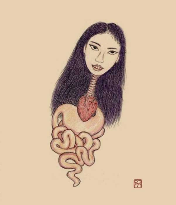 Known as Krasue (Thai) or Ab (Khmer), the Penanggalan is a nocturnal female spirit of Southeast Asian folklore. (2012) (Xavier Romero-Frias /CC BY-SA 3.0)