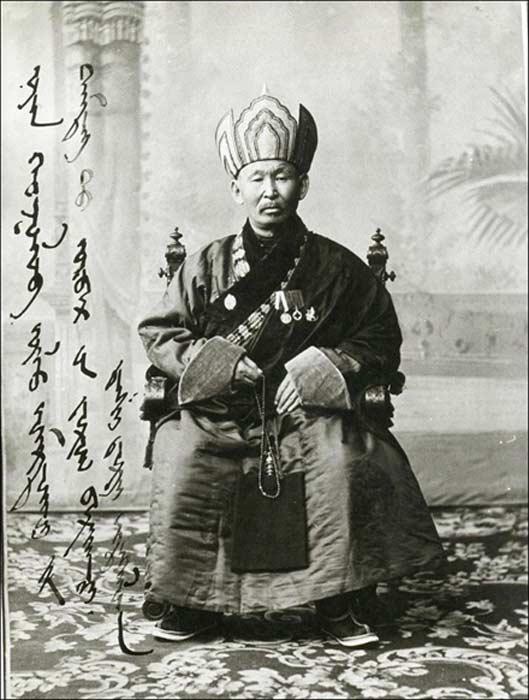 Born in 1852, lama Itiligov was prominent in the spiritual life of tsarist Russia immediately before the Bolshevik Revolution.