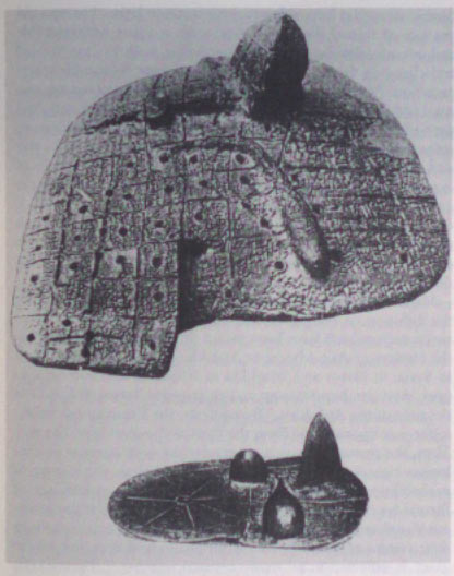 Liver models used for the interpretation of omens