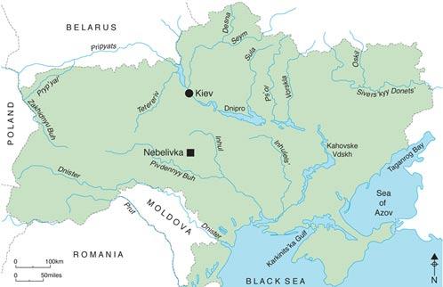 location map ukraine - arqueólogos desentierran un templo en Ucrania de 6000 años de antiguedad