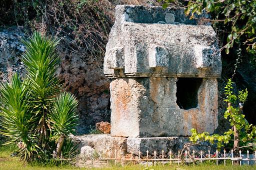 Lycian Sarcophagus Tomb