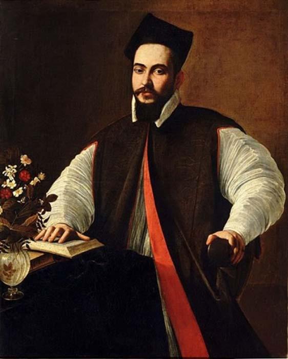 Maffeo Vincenzo Barberini, as a young man by Caravaggio (1571–1610) (Public Domain)