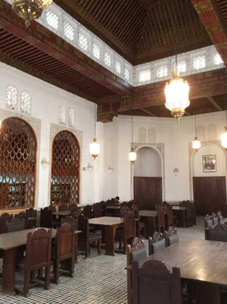 The library's main reading room.