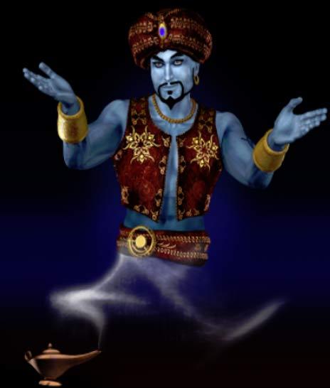 A male genie