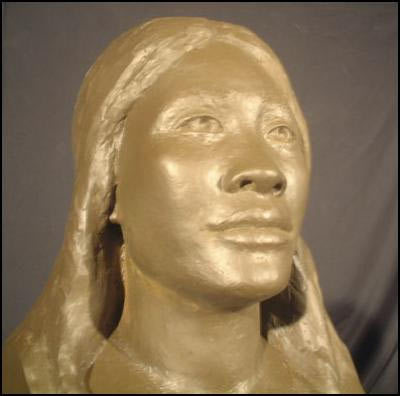 The face of Mana, a Lapita woman