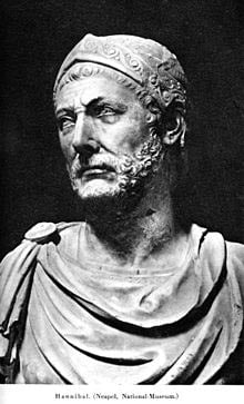 Marble bust of Hannibal
