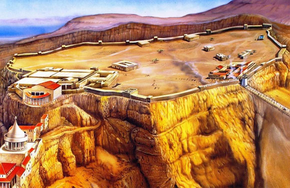Masada Fortress Reconstruction