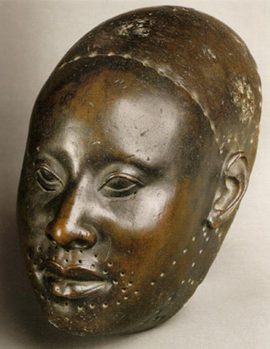 oruba copper mask of King Obalufon, Ilé-Ifè, Nigeria