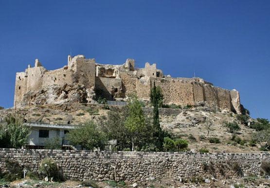 The castle of Masyaf - Assassins