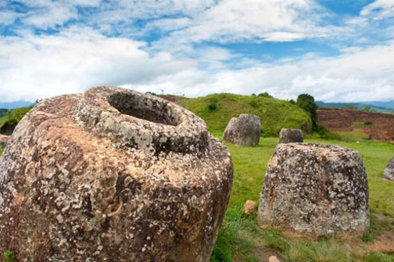 The Plain of Megalithic Jars