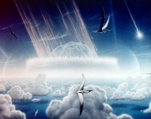 Meteorite on Earth