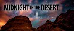 Midnight in the Desert
