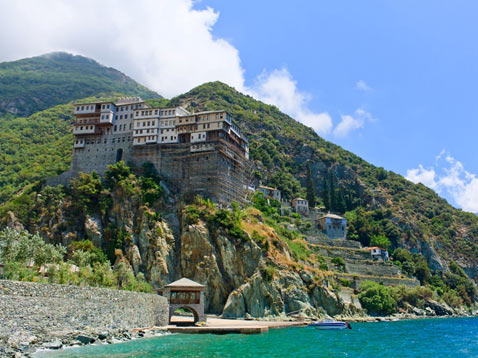 The Dionysiou Monastery, Mount Athos
