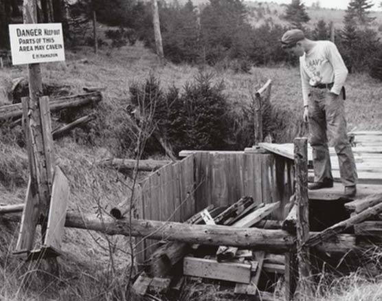 Oak Island Excavation