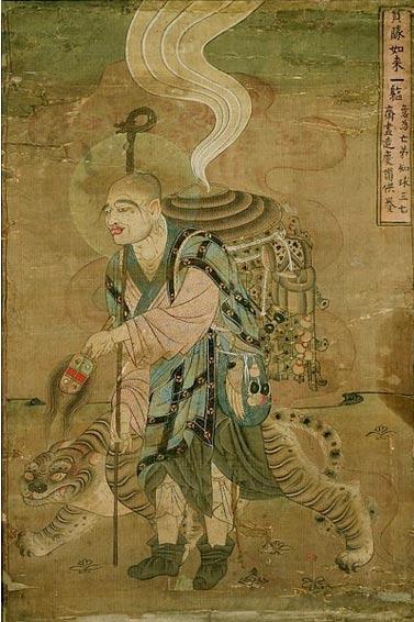 Illustration of the monk Xuanzang (11th Century) (Wikimedia Commons)