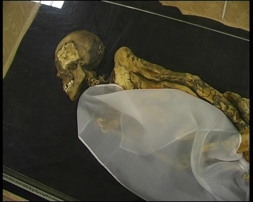 The mummy of Princess Ukok