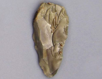 Neanderthal stone axe head